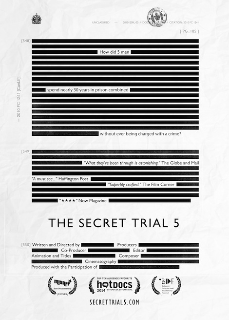 The Secret Trial 5 movie poster