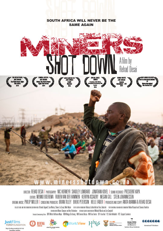 Miners Shot Down movie poster
