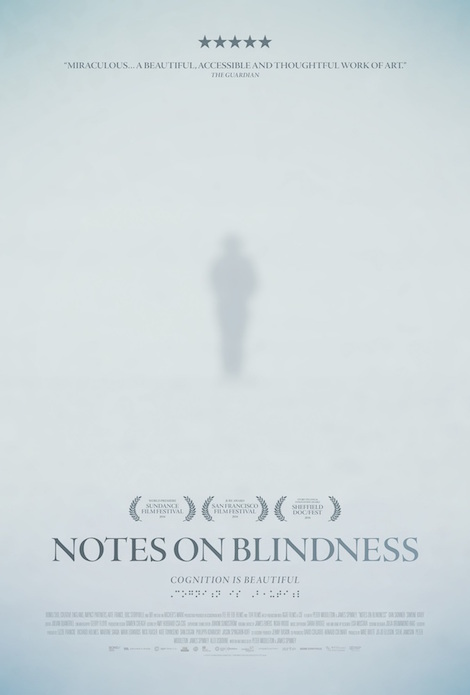 Notes On Blindness movie poster